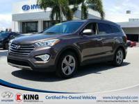 3rd ROW SEATING!  2015 HYUNDAI SANTA FE GLS EDITION