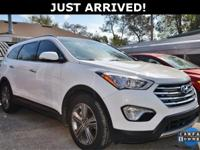 This Santa Fe features:  CARFAX One-Owner. Odometer is