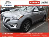 This 2015 Hyundai Santa Fe GLS is Iron Frost with a
