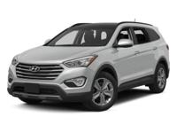 New Arrival! CarFax 1-Owner, This 2015 Hyundai Santa Fe