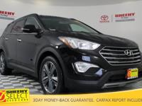 New Price! 2015 Hyundai Santa Fe Limited Certification