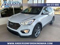 This Hyundai Santa Fe has a strong Regular Unleaded V-6