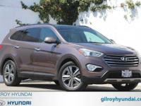 2015 Hyundai Santa Fe Limited 6-Speed Automatic with