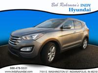 Treat yourself to this 2015 Hyundai Santa Fe Sport