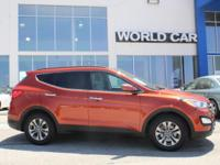 Santa Fe Sport trim. CARFAX 1-Owner. FUEL EFFICIENT 27