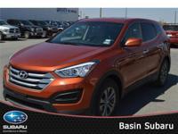 Feast your eyes on our 2015 Hyundai Santa Fe Sport FWD