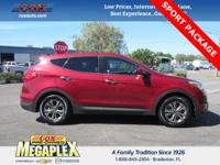 This 2015 Hyundai Santa Fe Sport 2.4L in Red is well