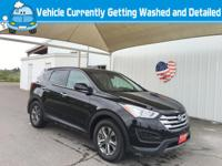 Take command of the road in the 2015 Hyundai Santa Fe