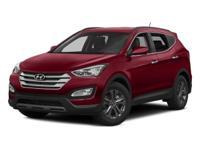 Options:  2015 Hyundai Santa Fe Sport 2.4L|White/|V4