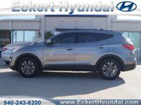 2015 Santa Fe SportFWD  2.4  in Mineral Gray with Gray