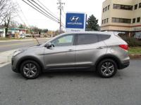 Clean CARFAX. Certified. Mineral Gray 2015 Hyundai