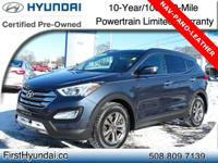 HYUNDAI CERTIFIED-NAVIGATION-PANOROOF-TECH PKG- AWD -
