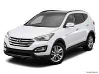 Black 2015 Hyundai Santa Fe Sport 2.4L AWD 6-Speed