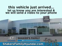 CARFAX One-Owner. Certified. Eclipse Black 2015 Hyundai