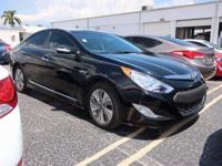 CARFAX One-Owner. Clean CARFAX. Black 2015 Hyundai