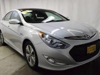 This 2015 Hyundai Sonata Hybrid Limited is proudly