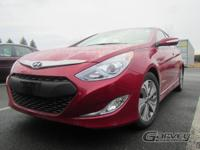 The 2015 Hyundai Sonata Hybrid is offered in the