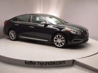 This 2015 Hyundai Limited Sonata 2.0L Turbocharged has