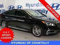 HYUNDAI CERTIFIED, REMAINDER OF FACTORY WARRANTY, ONE
