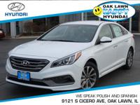 This 2015Hyundai SONATA 2.4L Sport will sell fast!!