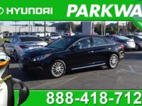 2015 Hyundai Sonata Limited Phantom Black 2.4L