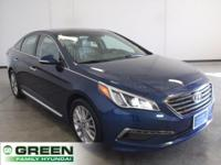 2015 Hyundai Sonata Limited Tech Package Lakeside Blue