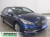 2015 Hyundai Sonata Sport Lakeside Blue FWD 6-Speed
