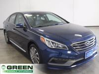2015 Hyundai Sonata Sport Premium Package Lakeside Blue