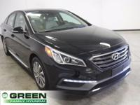2015 Hyundai Sonata Sport Phantom Black FWD 6-Speed