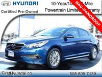 HYUNDAI CERTIFIED -TECH PKG-NAVIGATION-PANOROOF -JUST
