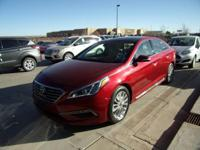 This 2015 Hyundai Sonata 2.4L Limited is offered to you