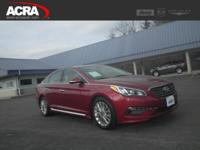 Used Hyundai Sonata, options include: a Back-Up Camera,