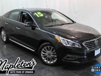 Recent Arrival! 2015 Hyundai Sonata in Phantom Black,
