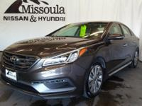 This 2015 Hyundai Sonata  has a L4, 2.4L high output