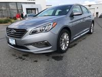 This 2015 Hyundai Sonata 2.4L Limited is proudly