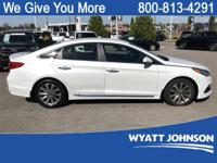 CARFAX One-Owner. Quartz White Pearl 2015 Hyundai