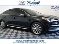 2015 Hyundai  Sonata Sport! Premium and Tech!  CARFAX
