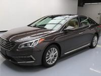 2015 Hyundai Sonata with 2.4L I4 DI Engine,Automatic