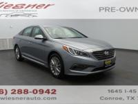 Safe and reliable, this certified Used 2015 Hyundai