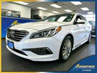 Spotless in and out, this 1-Owner Hyundai Sonata