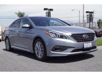 Hyundai Certified and Gray w/Leather Seating Surfaces.