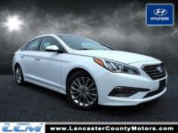 Sonata Limited, *LOW MILES; for a 2015!!*, *PANARAMIC