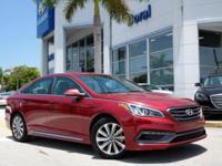 Sonata Sport, Hyundai Certified, 2.4L 4-Cylinder DGI
