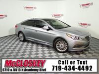 Enjoy the Smooth Ride this Sonata Offers! Leather,