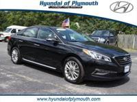 New Price! CARFAX One-Owner. Phantom Black 2015 Hyundai