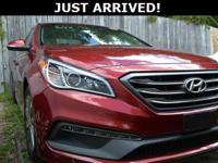 New Price! This Sonata features:  Odometer is 9032