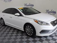 2015 Hyundai Sonata Certified. CARFAX One-Owner. ABS