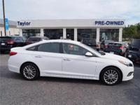 CarFax One Owner! This Hyundai Sonata is CERTIFIED!