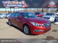 This 2015 Hyundai Sonata SE... Features include: 4-Cyl,