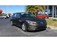 Certified Pre Owned 2015 Hyundai Sonata SE, Factory